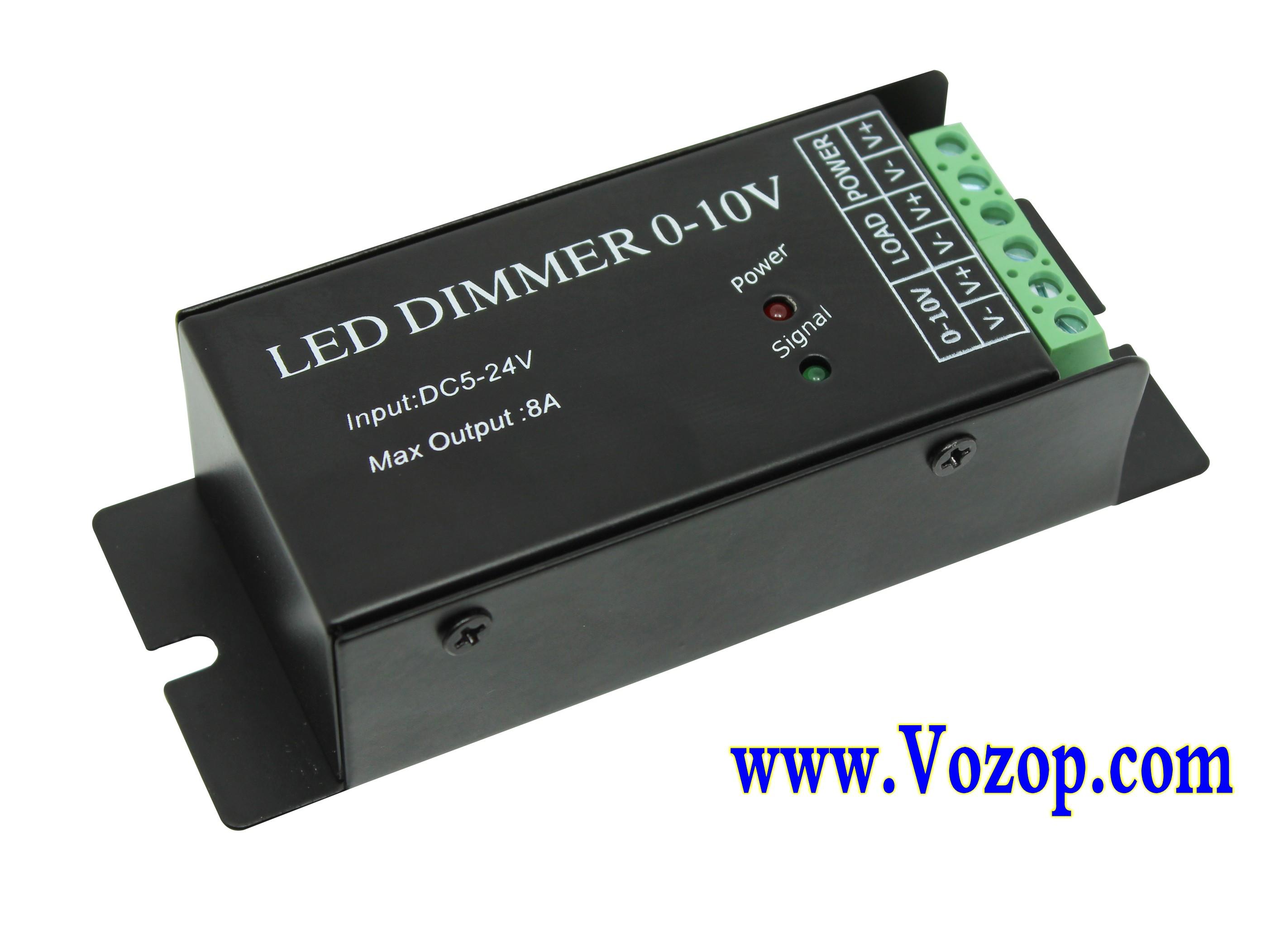 0 10v Led Dimmer Dimming Controller Constant Voltage Dc 5v