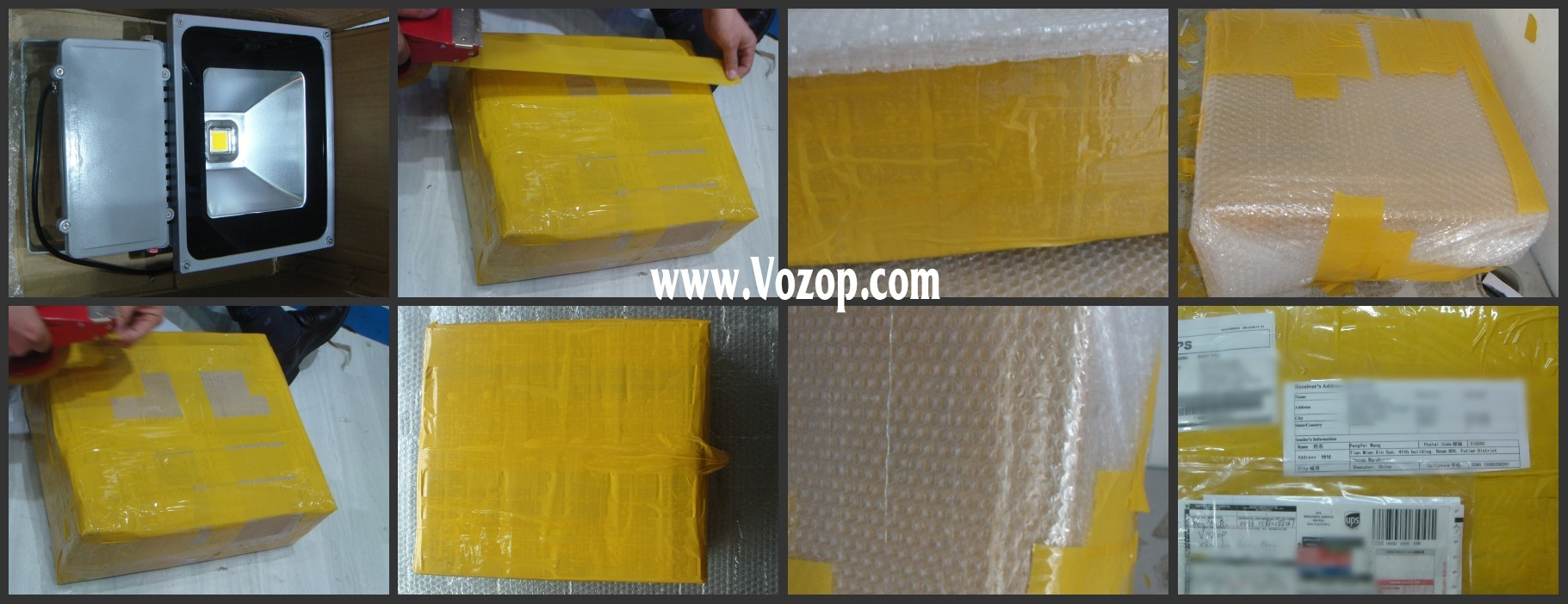 100W_Waterproof_High_Power_LED_Flood_Light_Packing