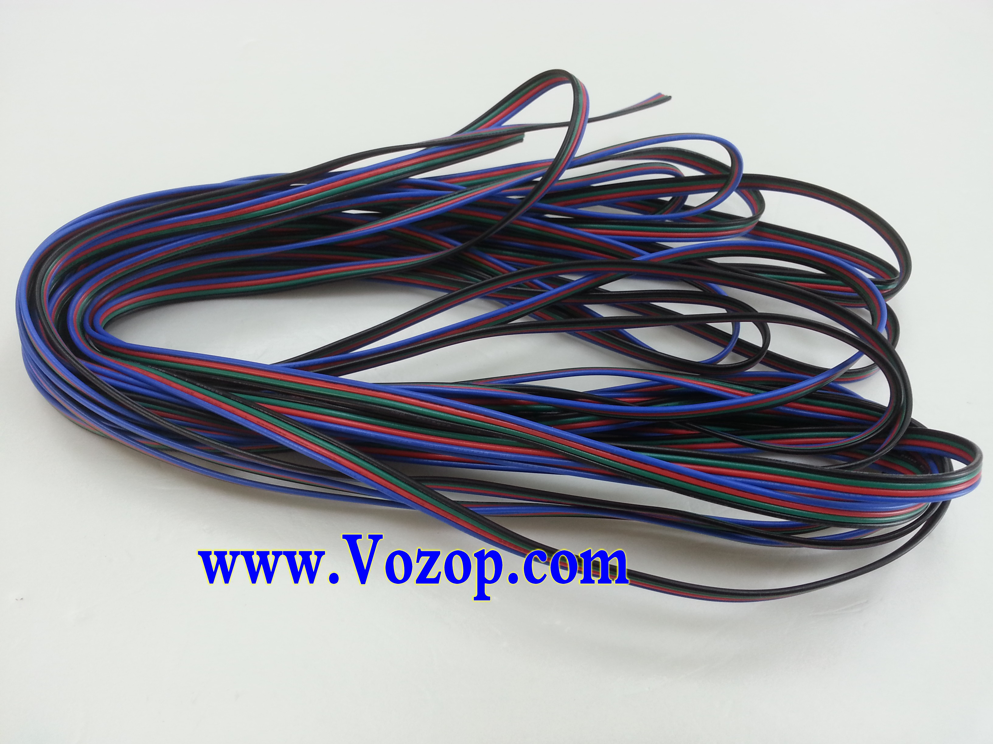 10_Meters_RGB_LED_Extension_cable_Wire