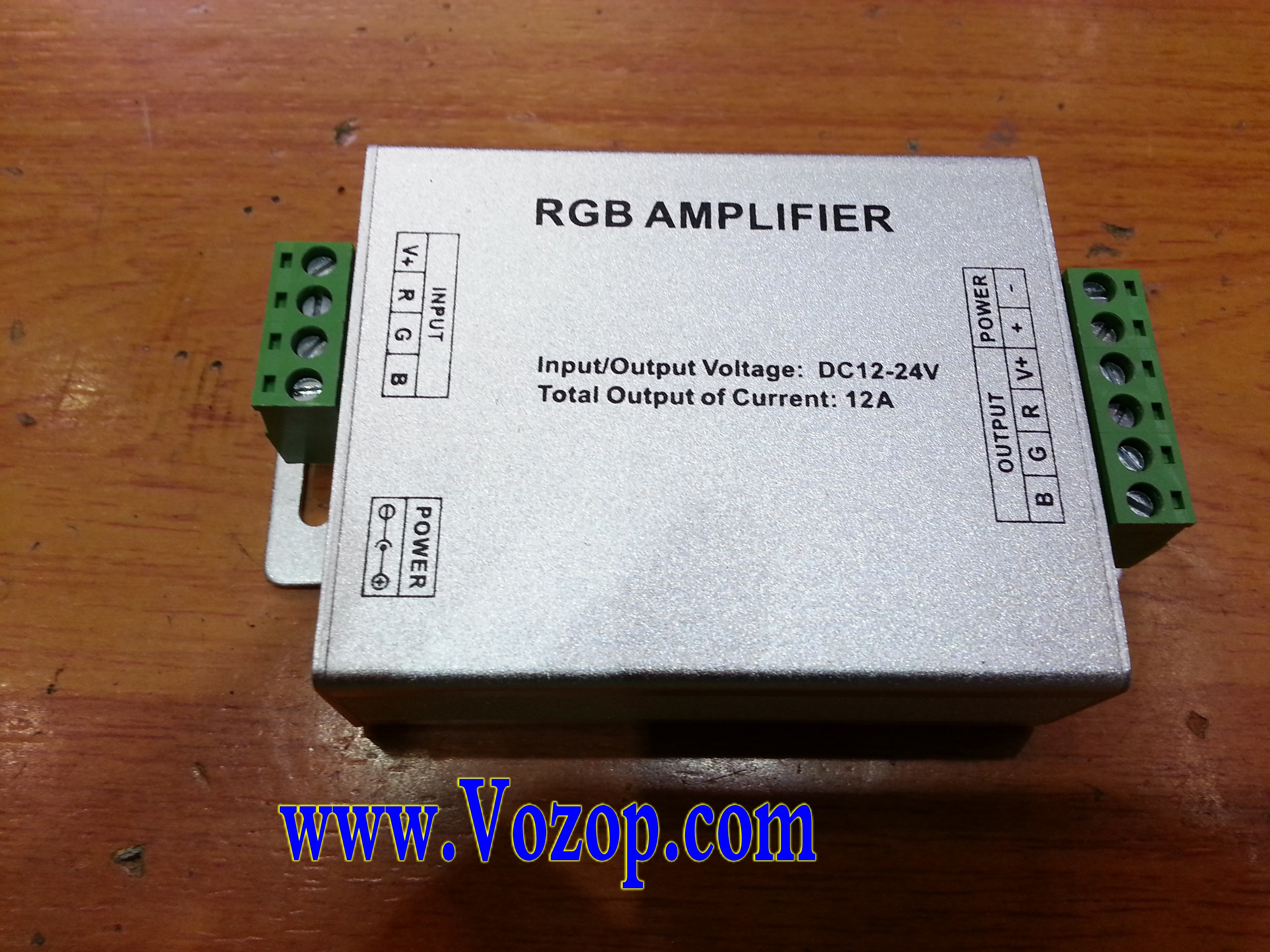 12A_Aluminum_RGB_Amplifier_LED_Booster_Signal