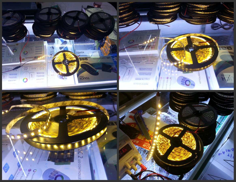 12V_3528_Warm_White_5M_600LEDs_Strip_Light_Non_Waterproof_Tape_Lighting