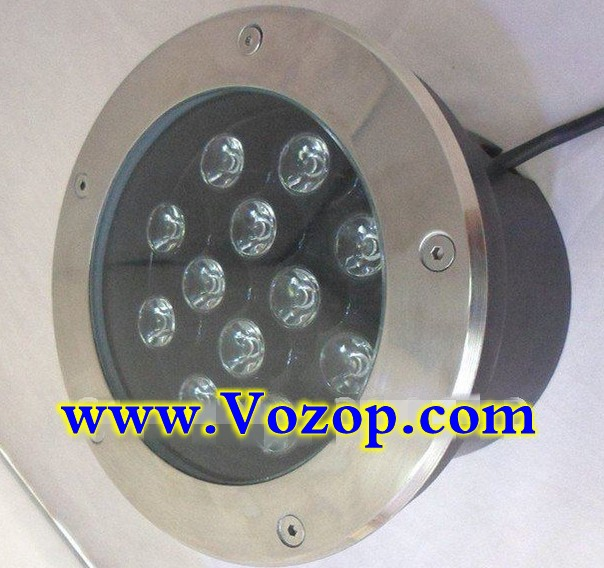 12W_Stainless_Steel_LED_Underground_Light_Outdoor_Buried_Light