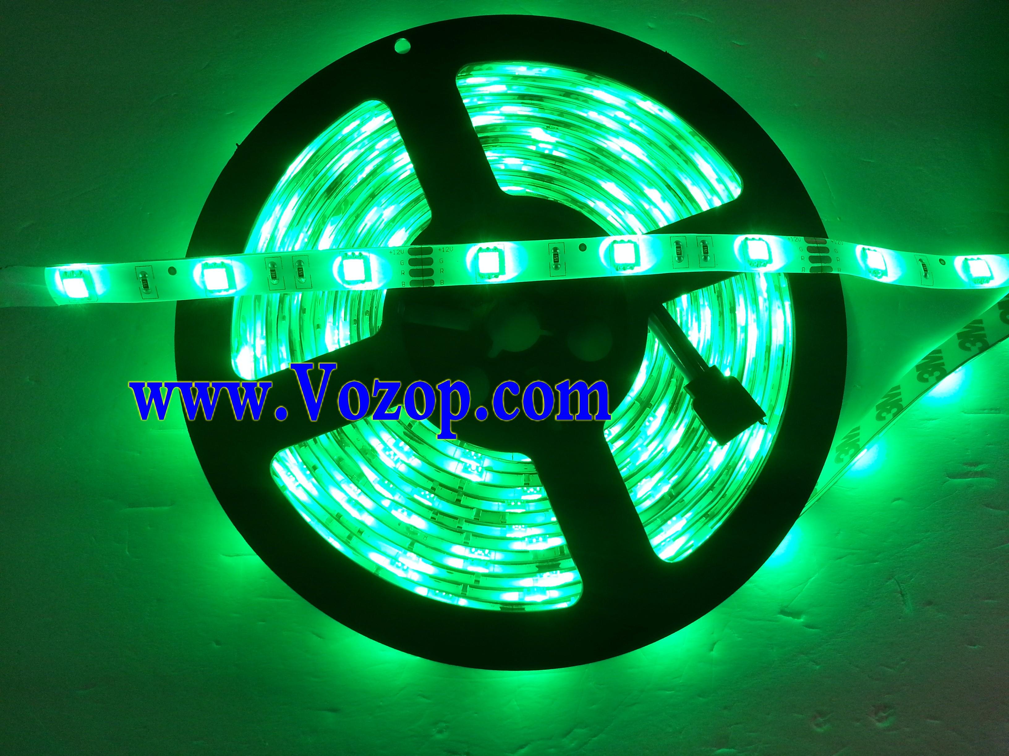 150_LEDs_RGB_5050_LED_Light_Strip_30LEDs_Meter_tape