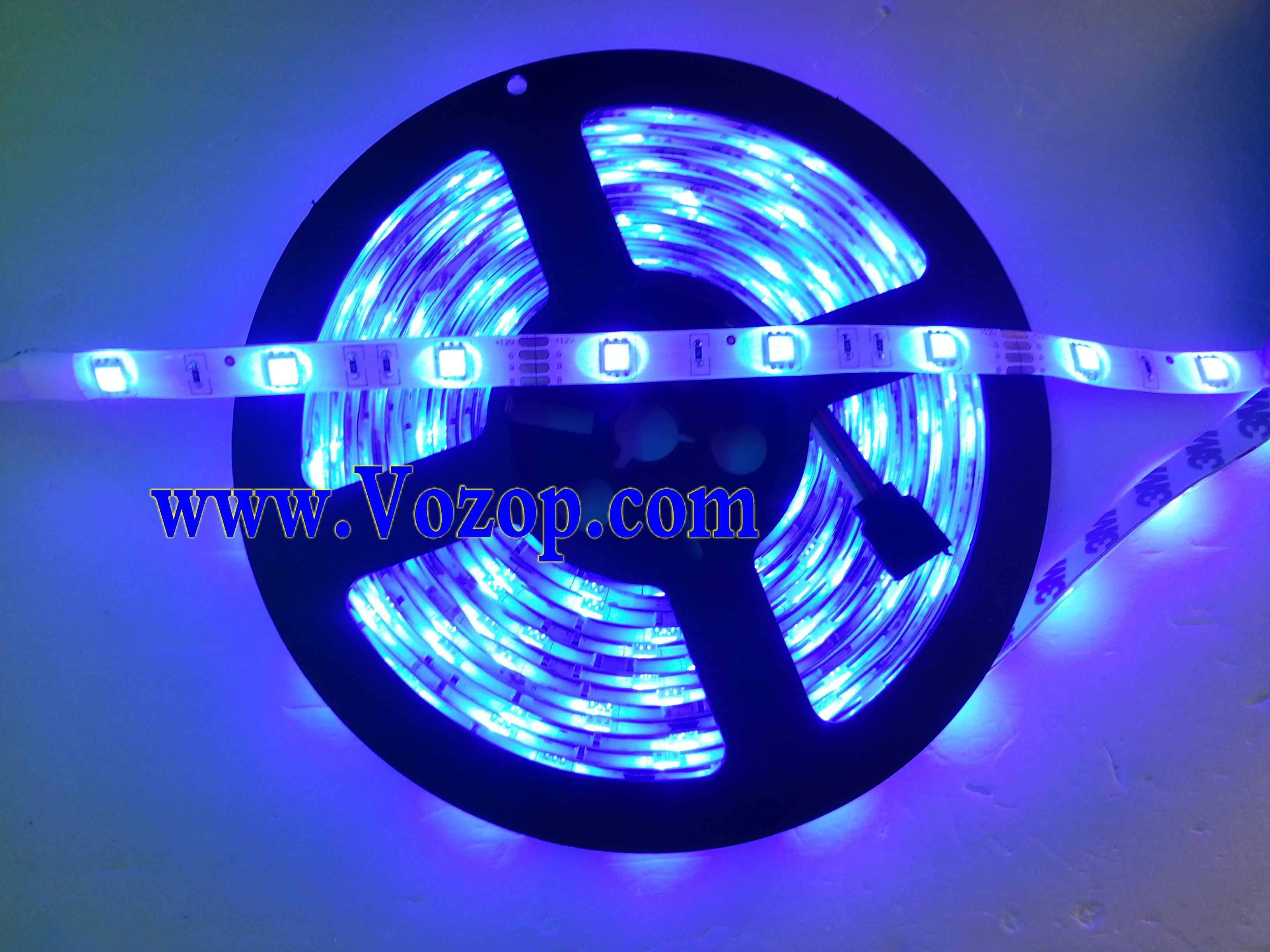 150_LEDs_RGB_5050_LED_Light_Strip_30LEDs_Meter_tape_lighting