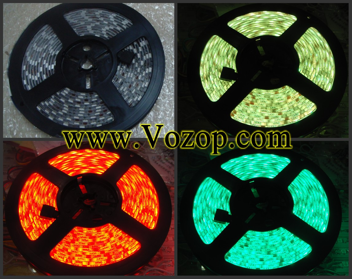 16.4_Feet_300_LEDs_Ip65_IP65 Dripping_Glue_Waterproof_SMD_RGB_5050_LED_Strip