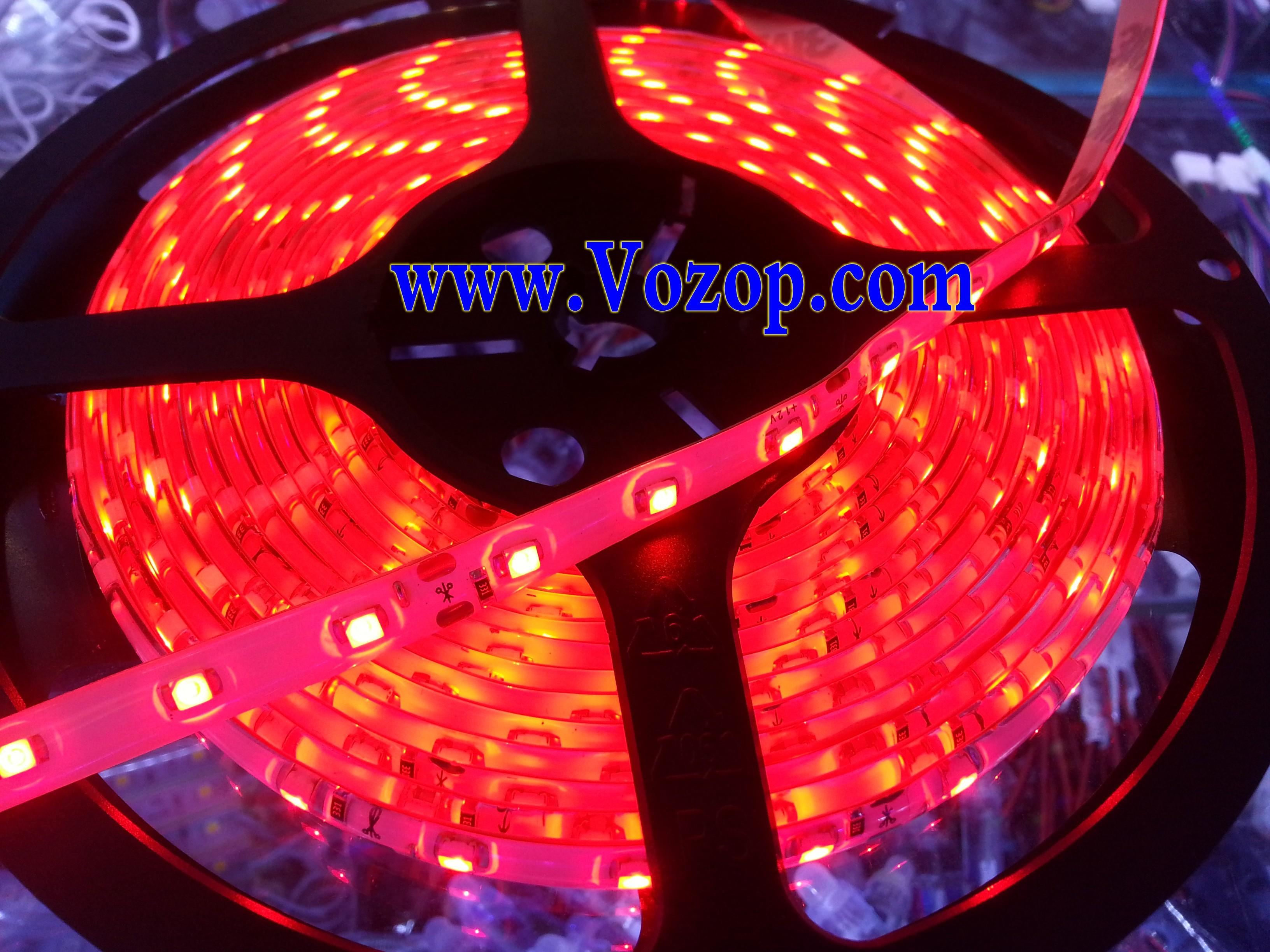 16.4_Feet_red_LED_Light_5M_300_SMD_3528_LEDs_Waterproof_Lights