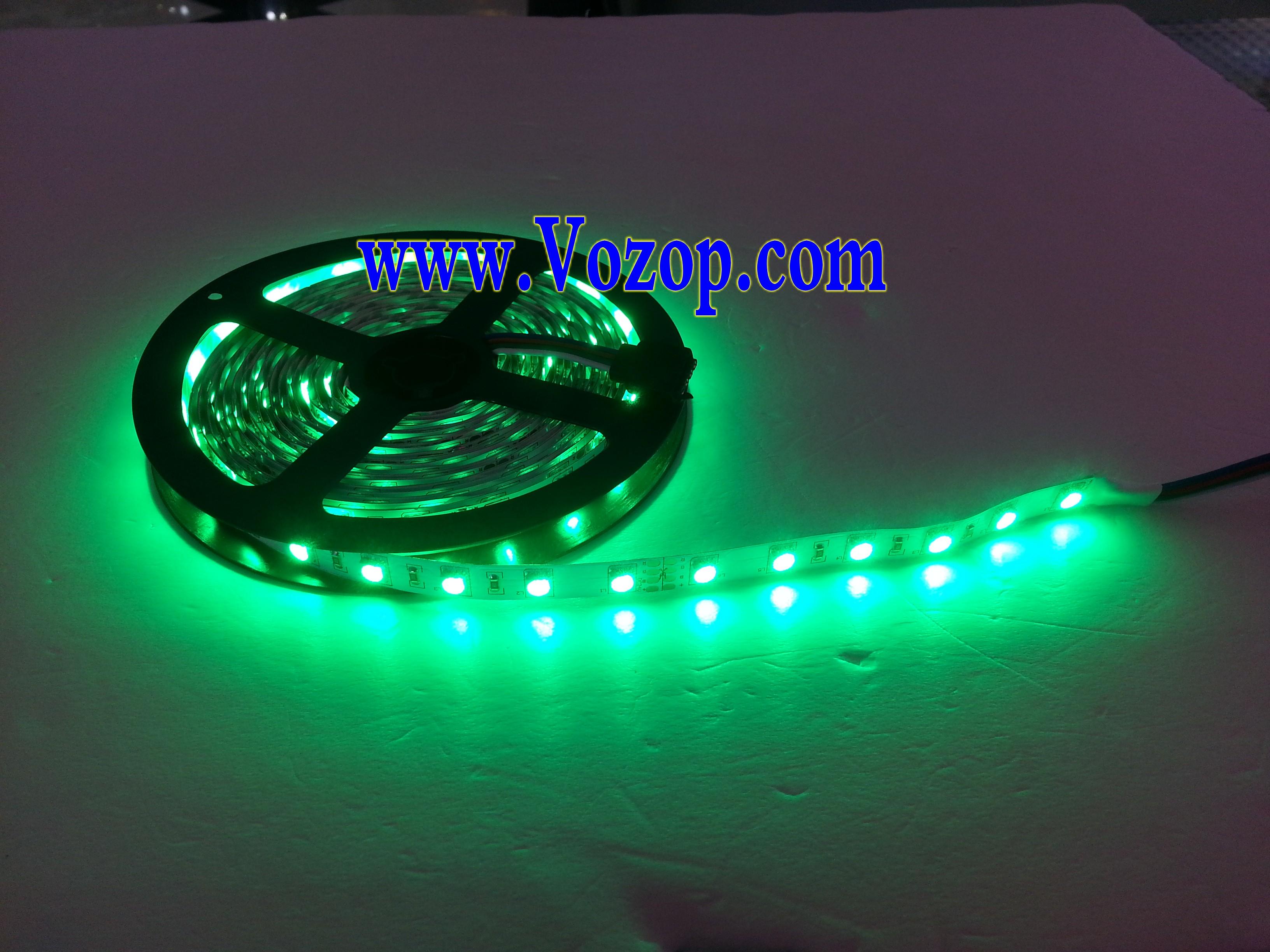 16.4_feet_SMD5050_300leds_5m_24_Volt_RGB_LED_Strip_Lighting_light
