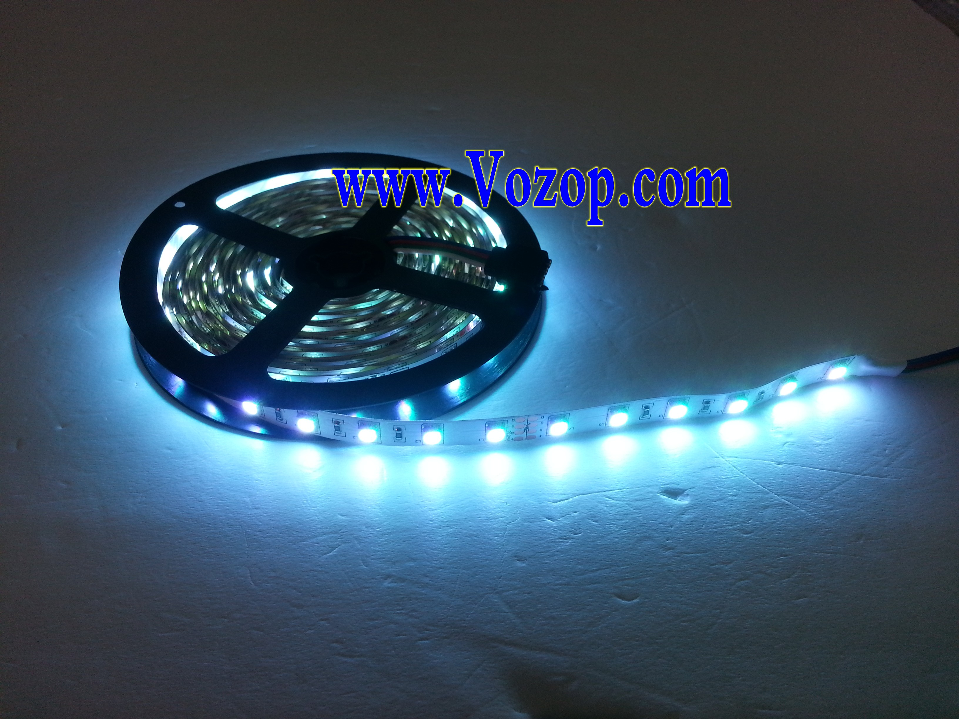 10m 600leds 24v 5050 rgb led strip light 60leds m. Black Bedroom Furniture Sets. Home Design Ideas