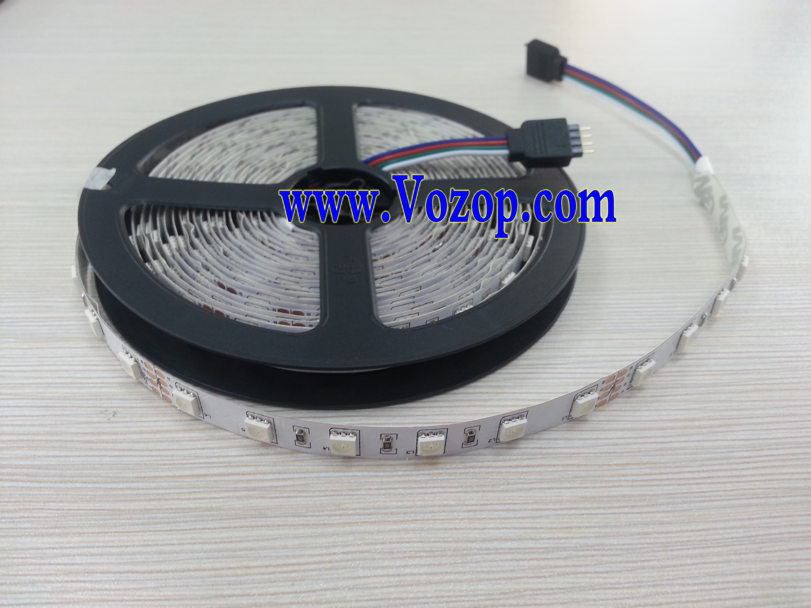 24v rgb led strip 5m 300 leds smd5050 non waterproof light. Black Bedroom Furniture Sets. Home Design Ideas