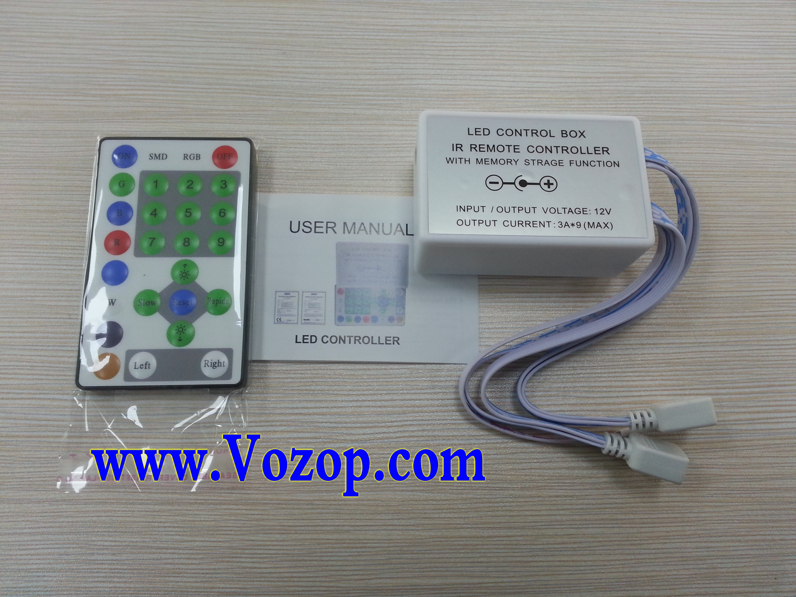 25_Keys_Horse_Race_IR_Remote_RGB_LED_Controller