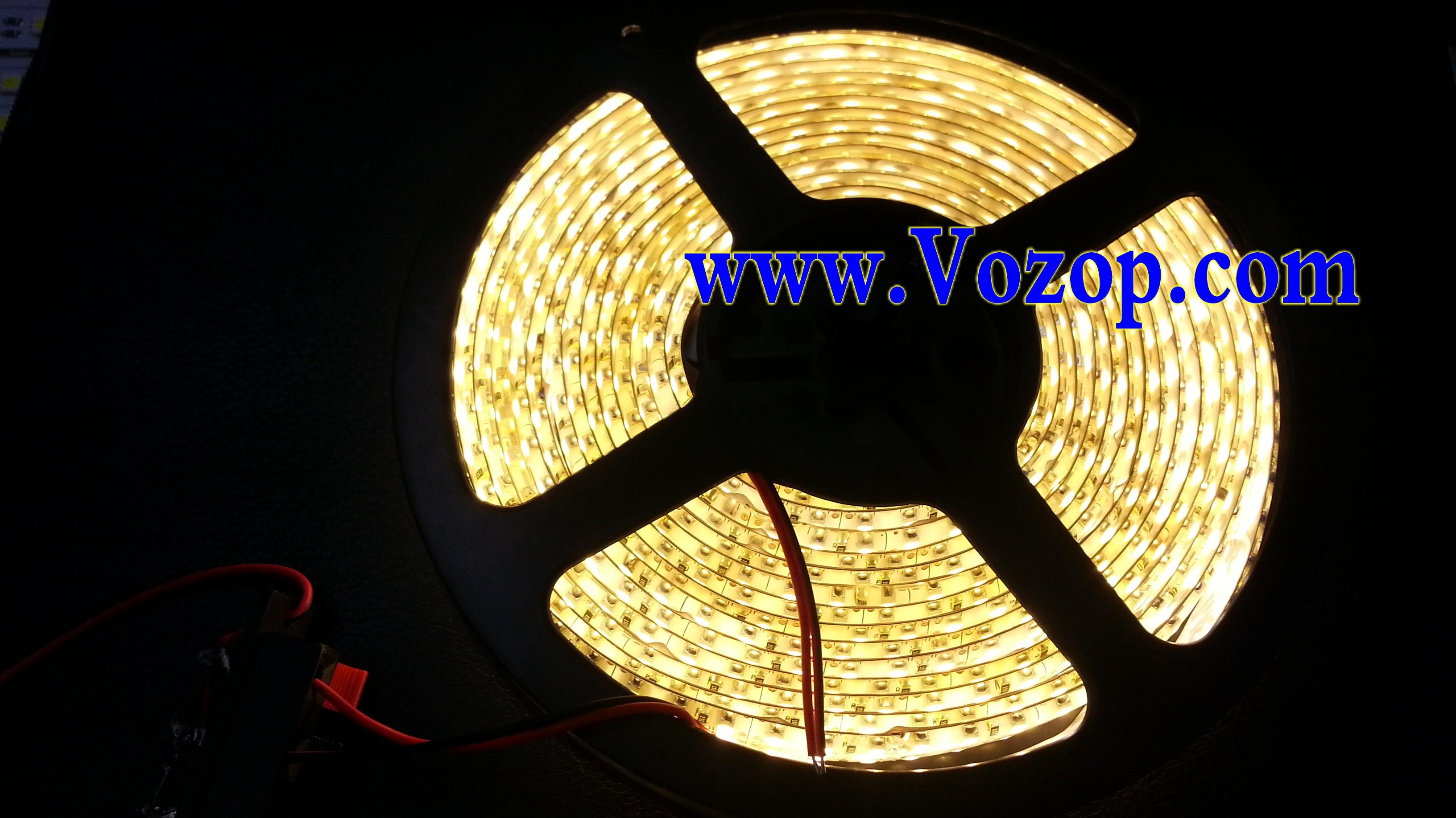 3528_5M_1200LEDs_tape_Strip_Warm_White_IP65_Waterproof_Lights