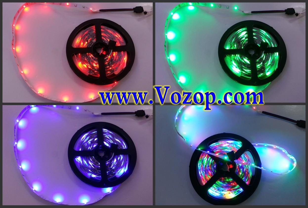 3528_RGB_LED_Strip_SMD_5M_300_LEDs_Light