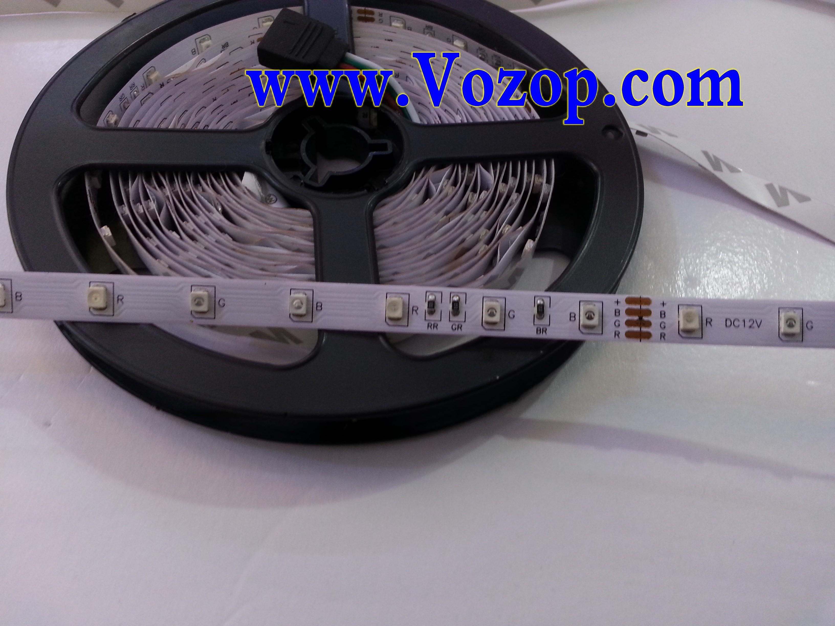 3528_RGB_LED_Strip_SMD_holiday_Light