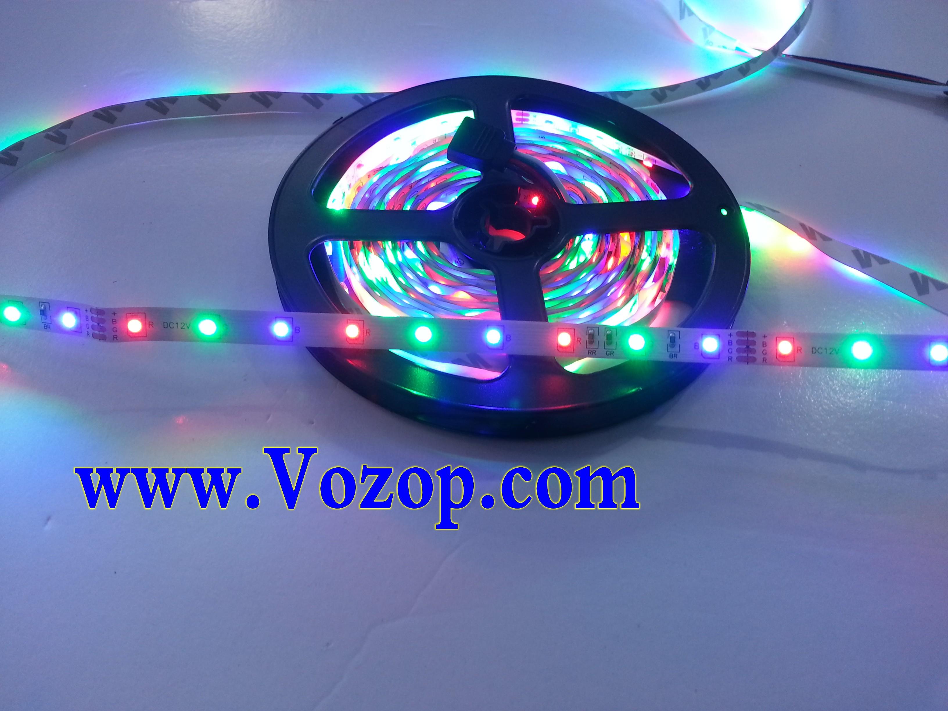 3528_RGB_LED_Strip_holiday_Light