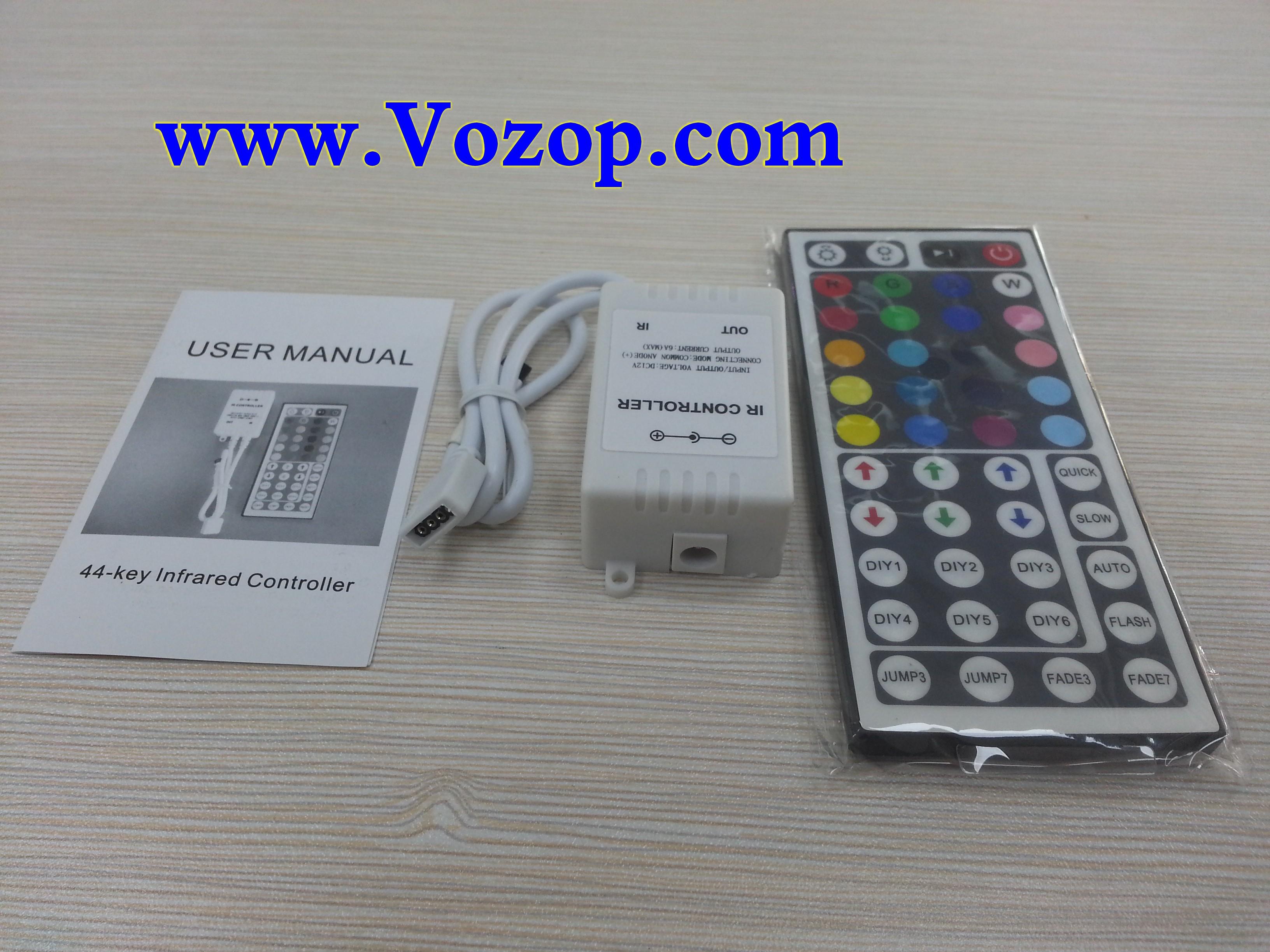44_button_IR_Ribbon_Remote_RGB_Controller_for_RGB_LED_Light_Strip