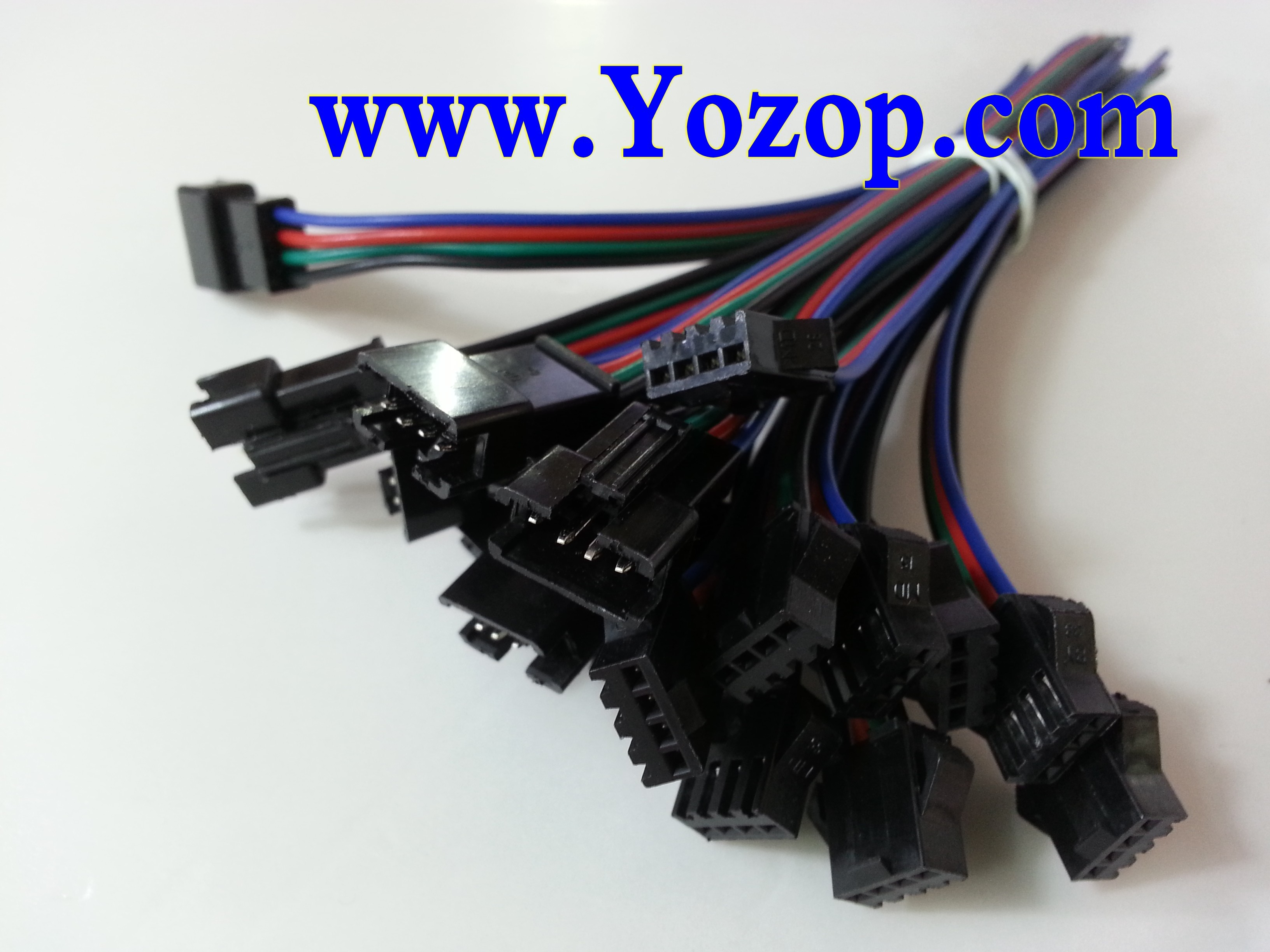 4_pin_power_extension_cable_connectors