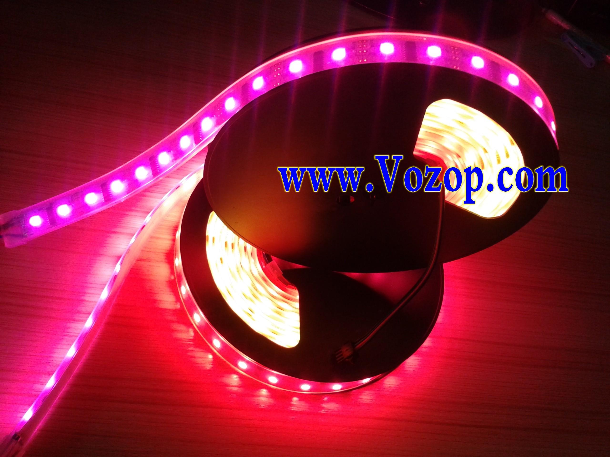 52_LEDs_8806_Individually_Addressable_RGB_LED_Strip_Light