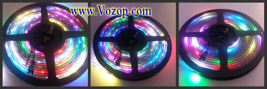 5_Meters_300_LEDs_DC_5V_WS2811_60_ICs_per_Meter_Waterproof_Digital _Tape_strip_light_programmable_led