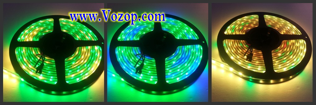 5_Meters_300_LEDs_DC_5V_WS2811_60_ICs_per_Meter_Waterproof_Digital _Tape_strip_light_programmable_leds