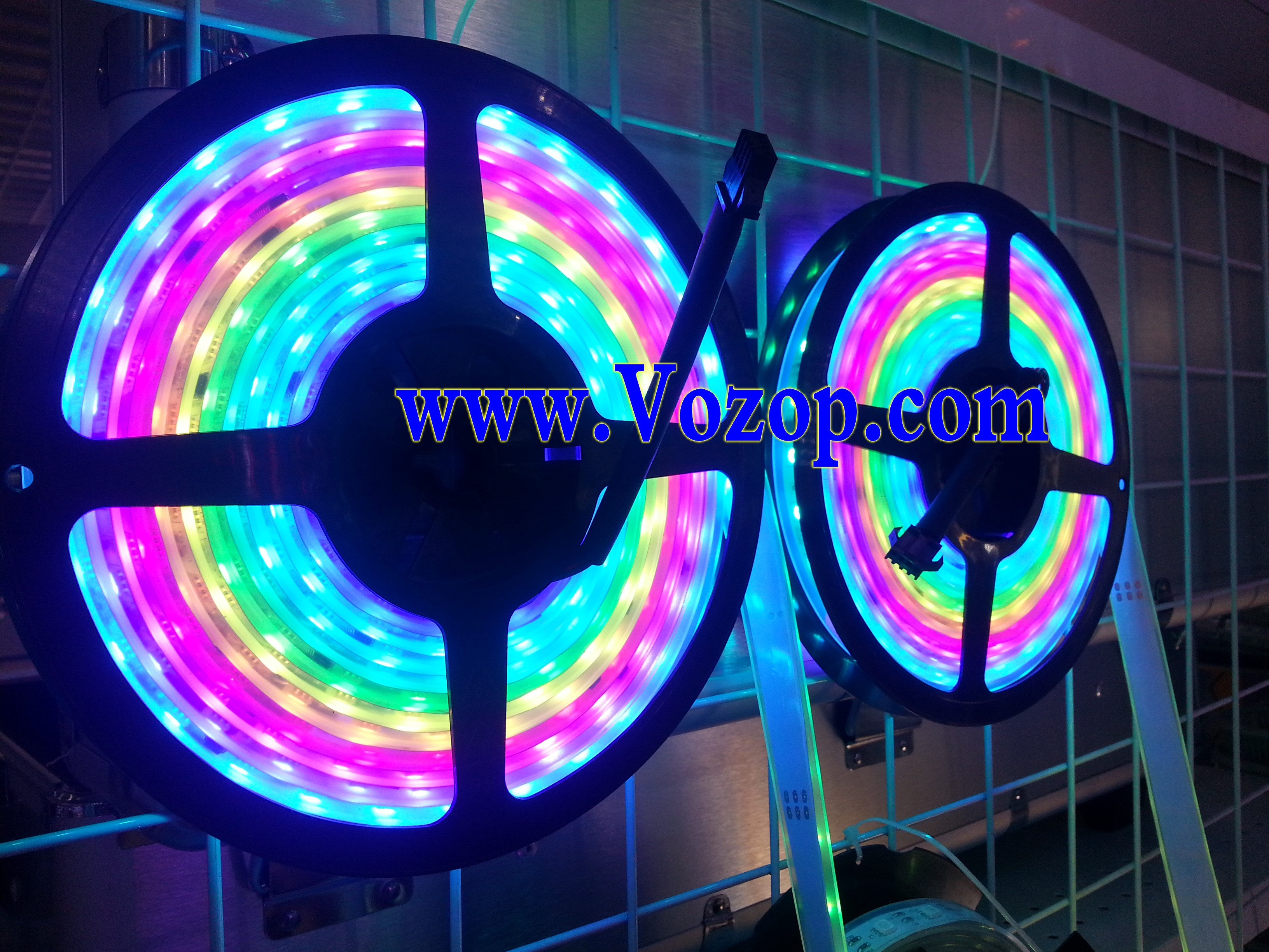 5_Meters_Intelligent_TM1812_RGB_5050_Digital_LED_tape_Strips_lights