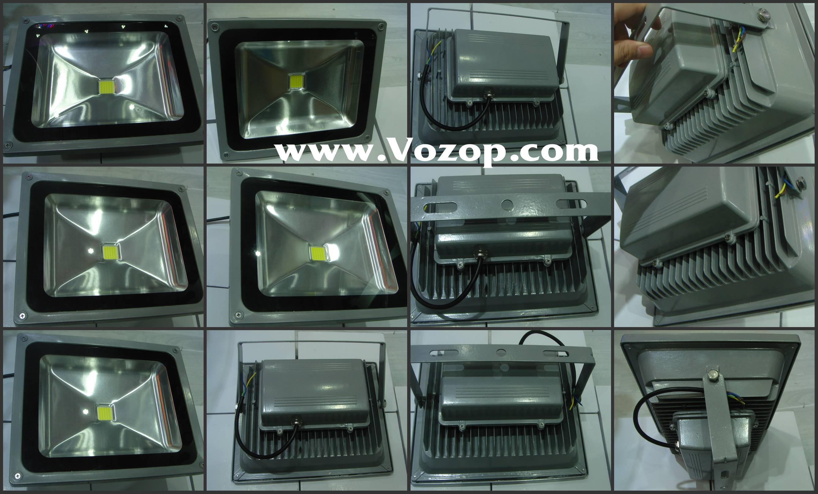 60W_IP65_Aluminium_High_Power_Outdoor_LED_Flood_Light_Bulbs
