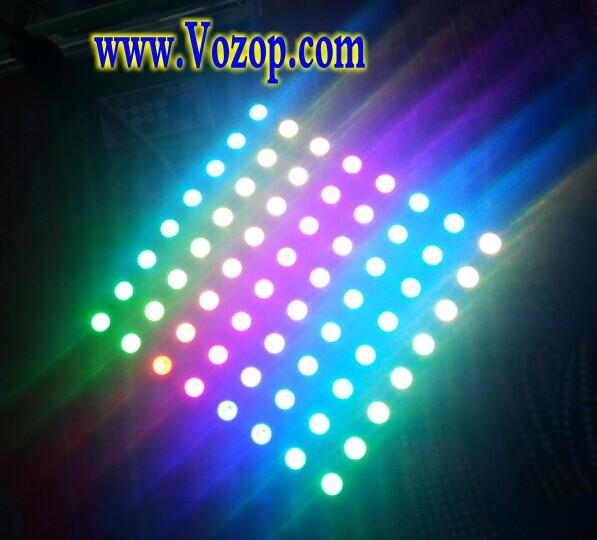 64LEDs_WS2812B_RGB_LED_Matrix_Panel_Light_5V_pixel_lighting