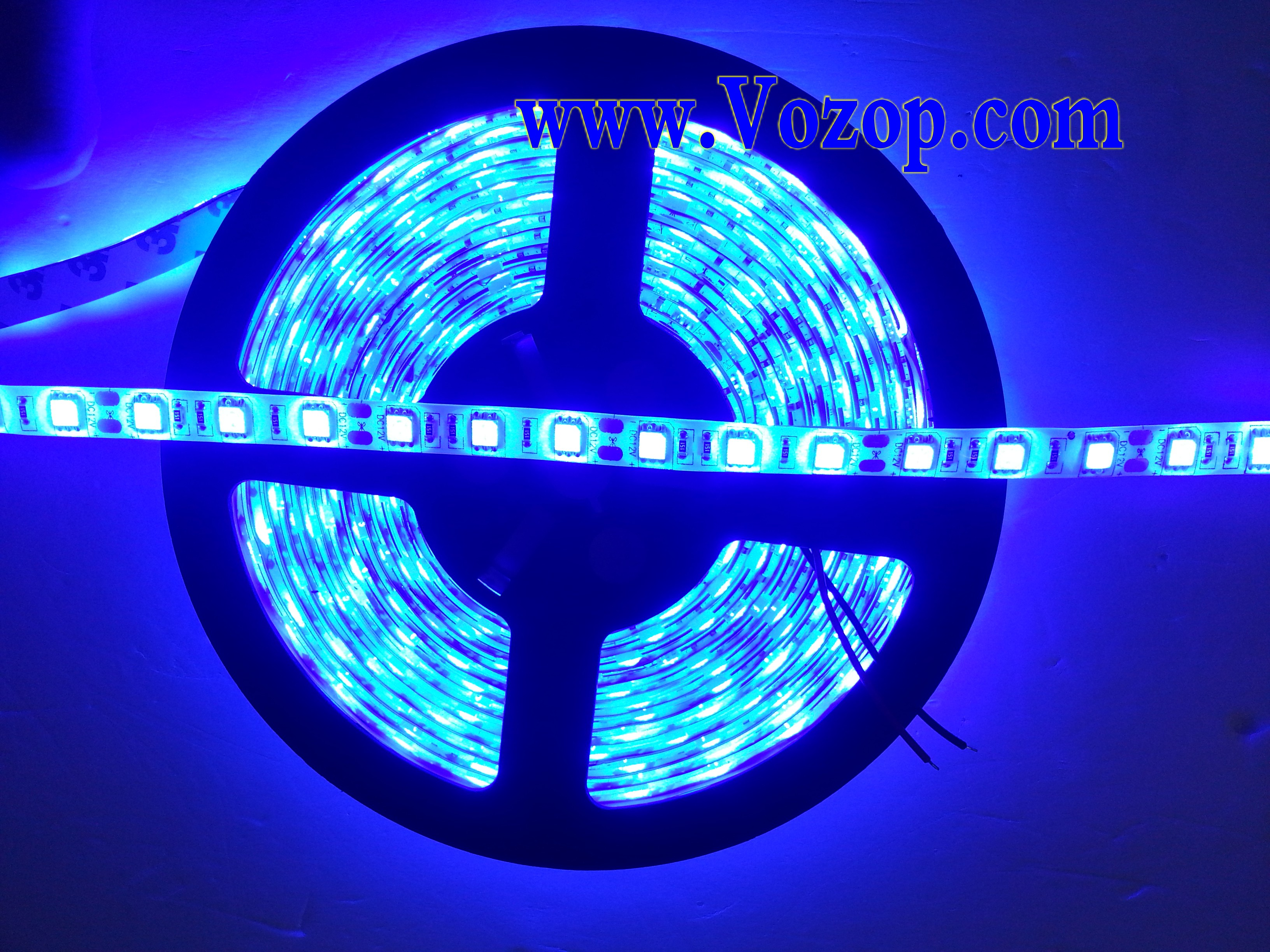 Blue_300LED_SMD5050_Waterproof_60LED_LED_Strip_Light