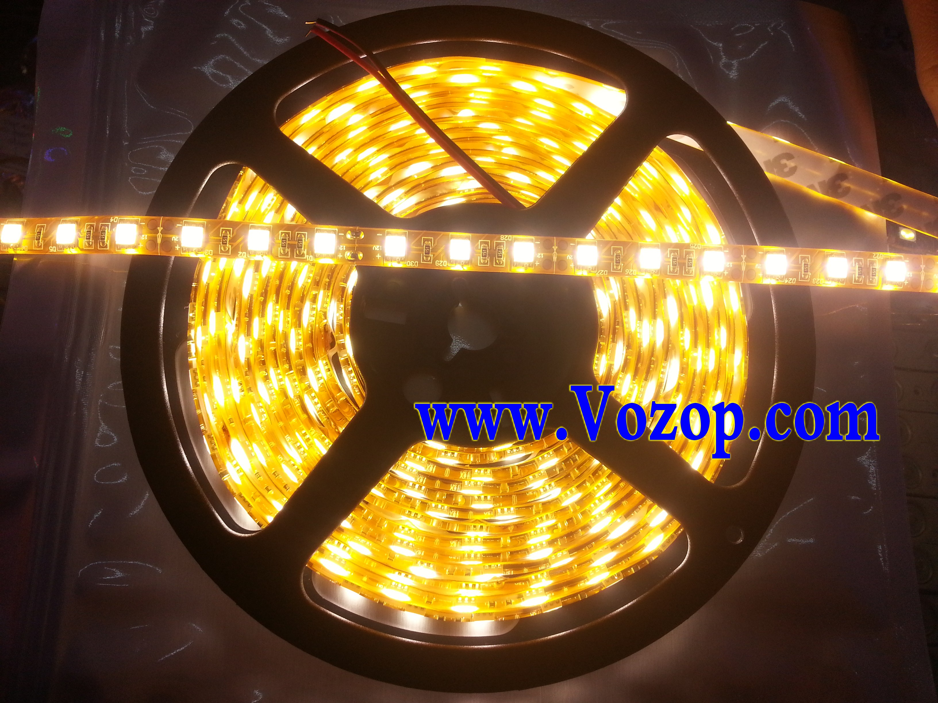 Brightest_Warm_White_SMD_5050_LED_Tape_Strip_Ribbon_Light