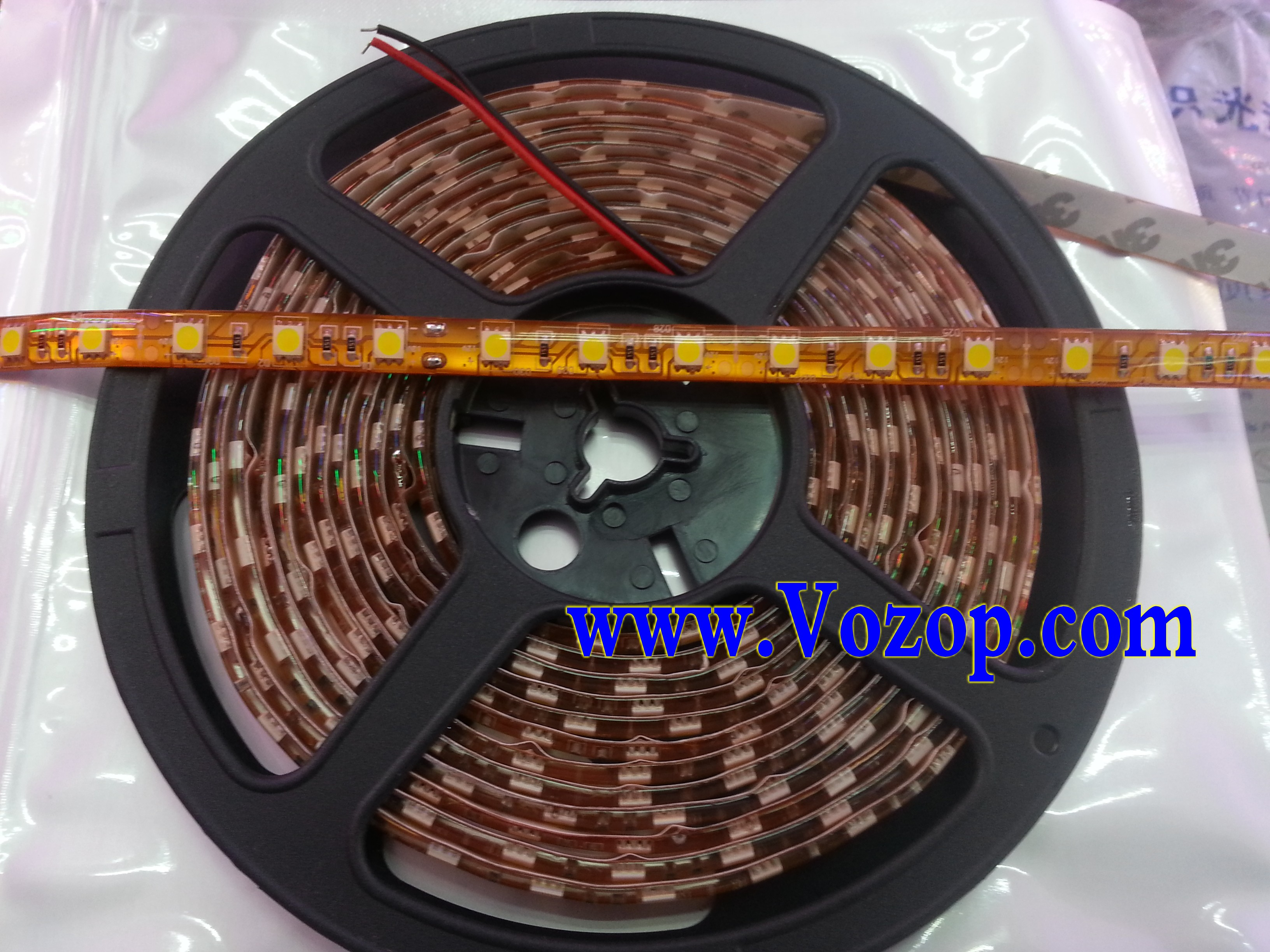 Brightest_Warm_White_SMD_5050_LED_Tape_Strip_Ribbon_Lights