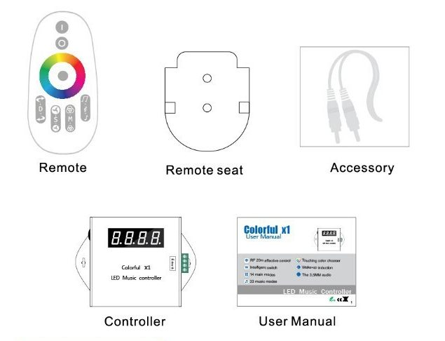 Colorful_X1_LED_Music_Controller_For_6803_RGB_LED_Strip_wholesale_price