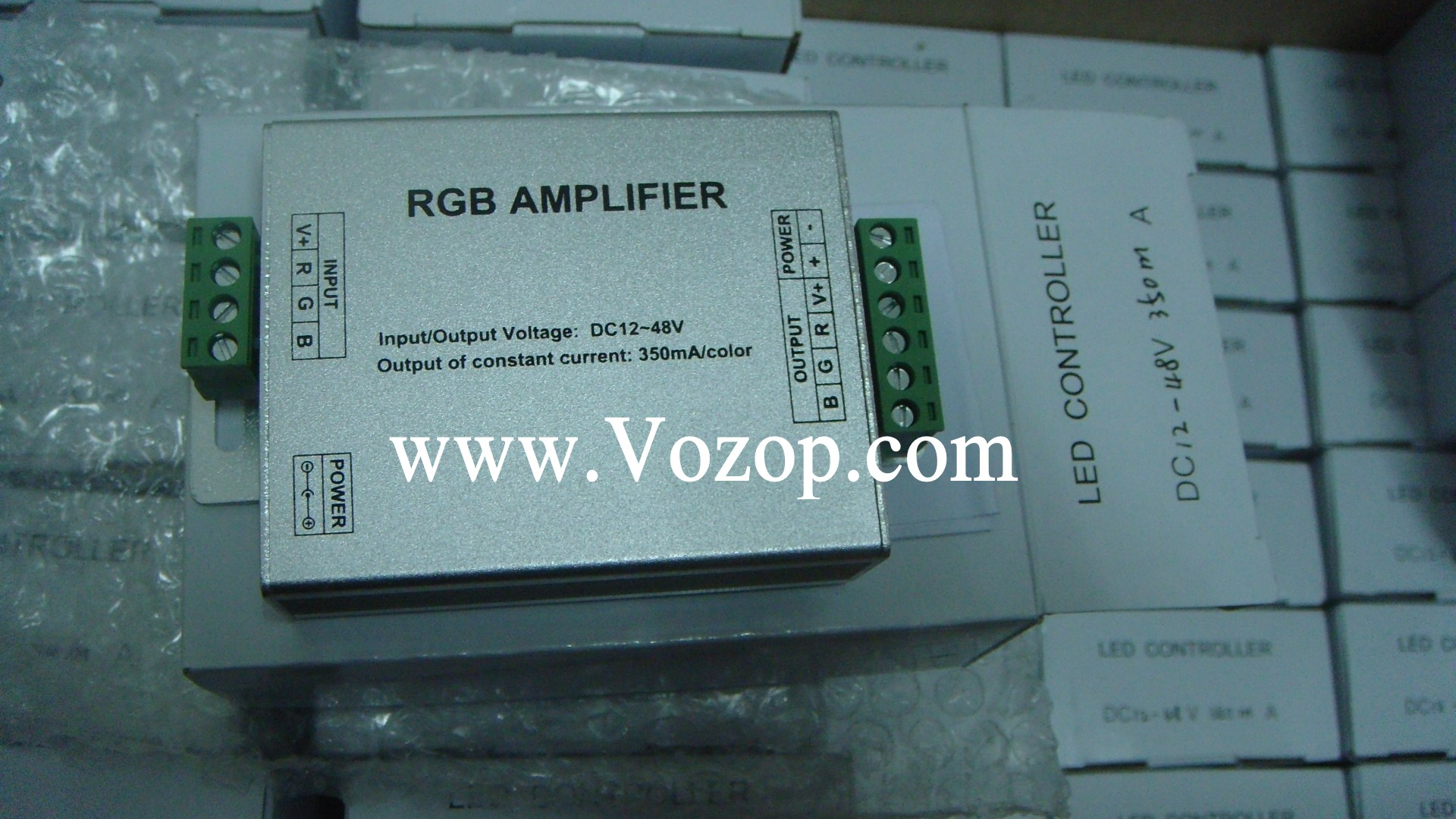 Constant Current 350mA RGB LED Amplifier_Wholesale_controllers