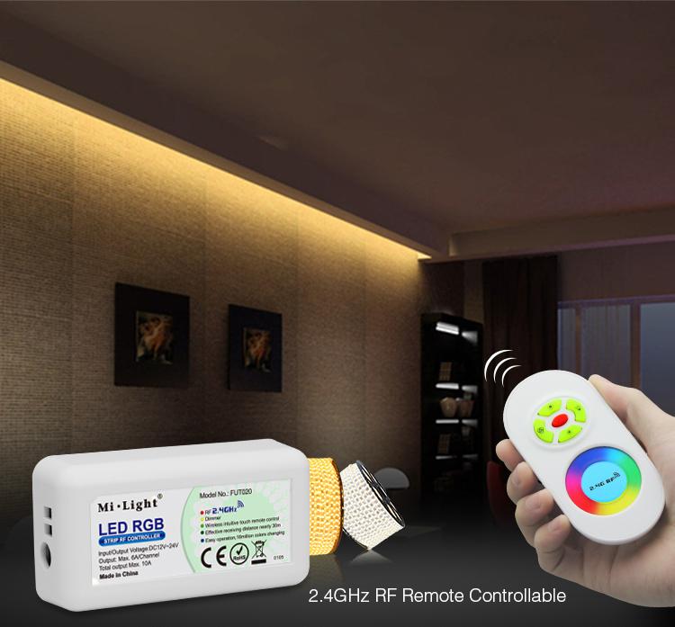 DC12V_24V_MiLight_FUT020_2.4GHz_RGB_LED_Strip_Controller_4