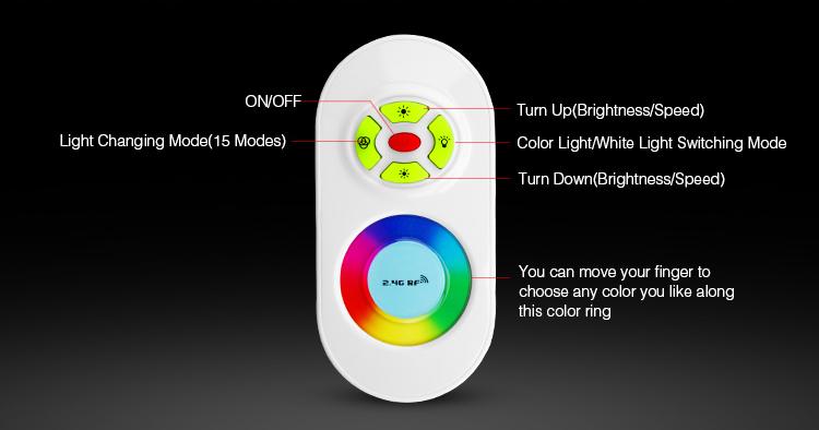 DC12V_24V_MiLight_FUT020_2.4GHz_RGB_LED_Strip_Controller_6