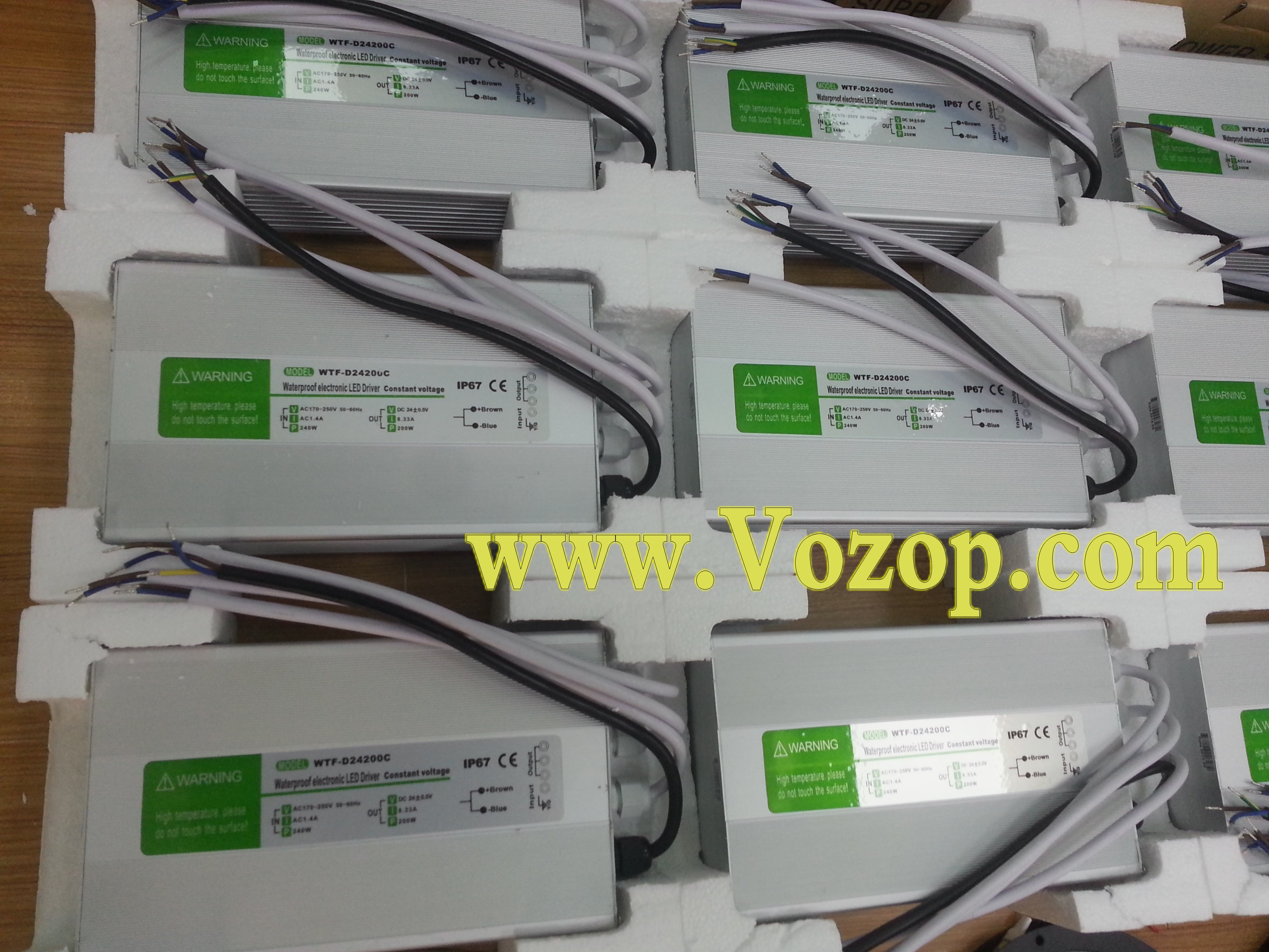 DC_12V_200W_Power_Supply_IP67_Waterproof_Transverter_power_driver_transformers