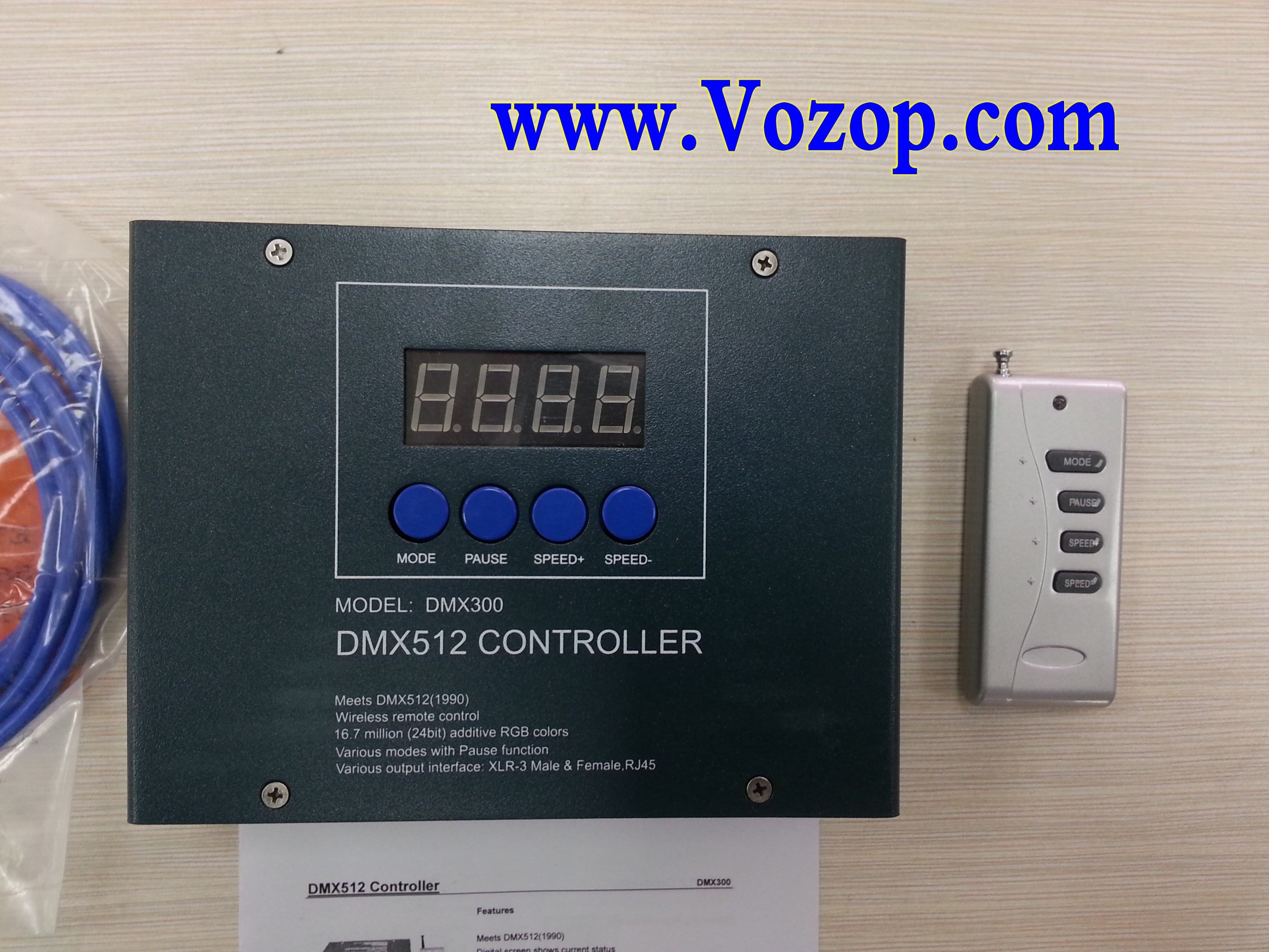 DMX300_DMX_LED_Controller_MASTER_Controllers