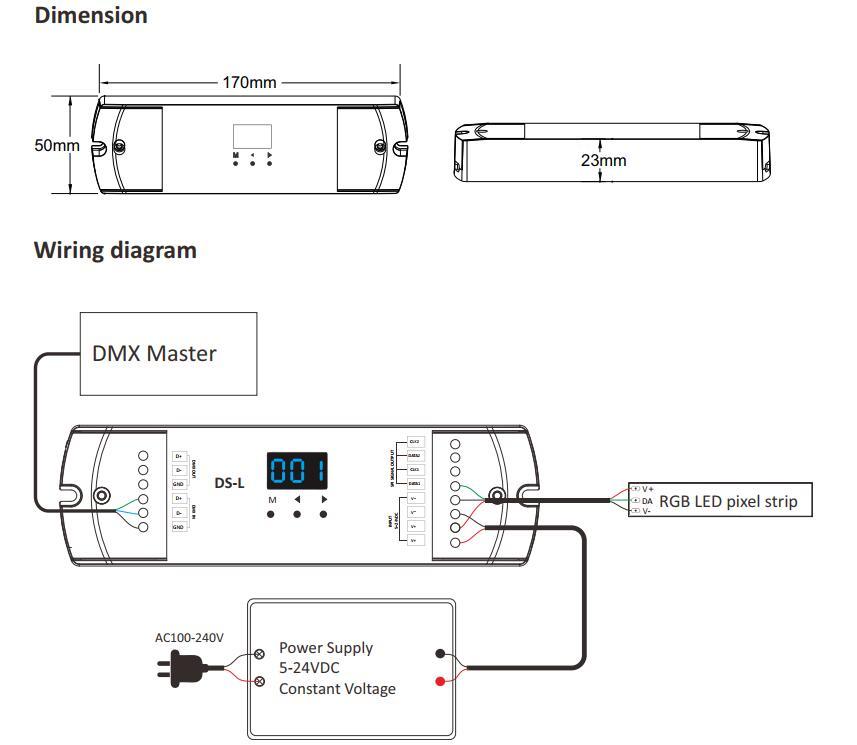 DSL_1024_Dots_DMX_To_SPI_Decoder_2
