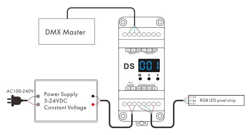 DS_1024_Dots_DMX_To_SPI_Converter_3