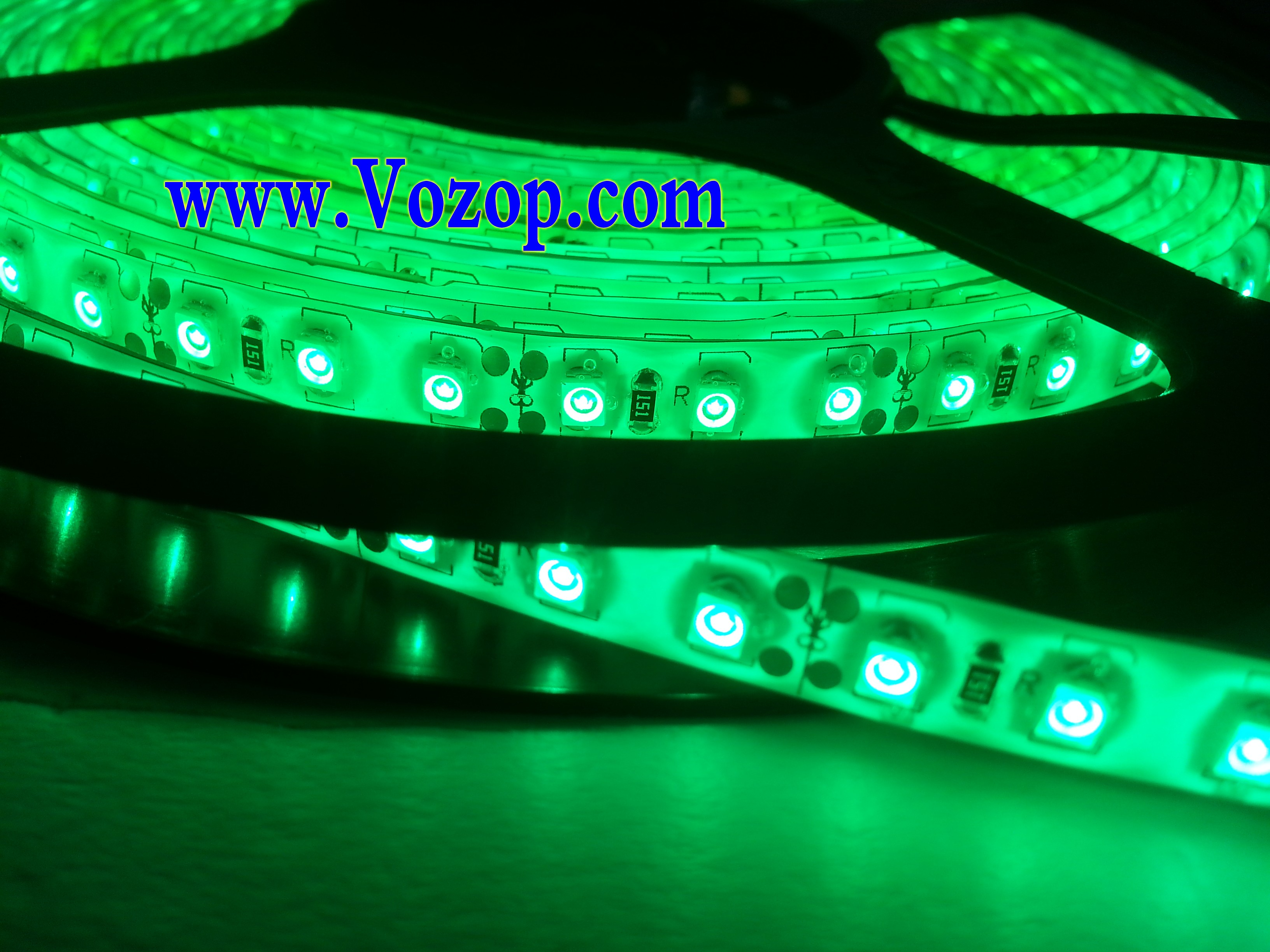 Green_SMD3528_LED_Light_Flex_Ribbon_Strip_Light