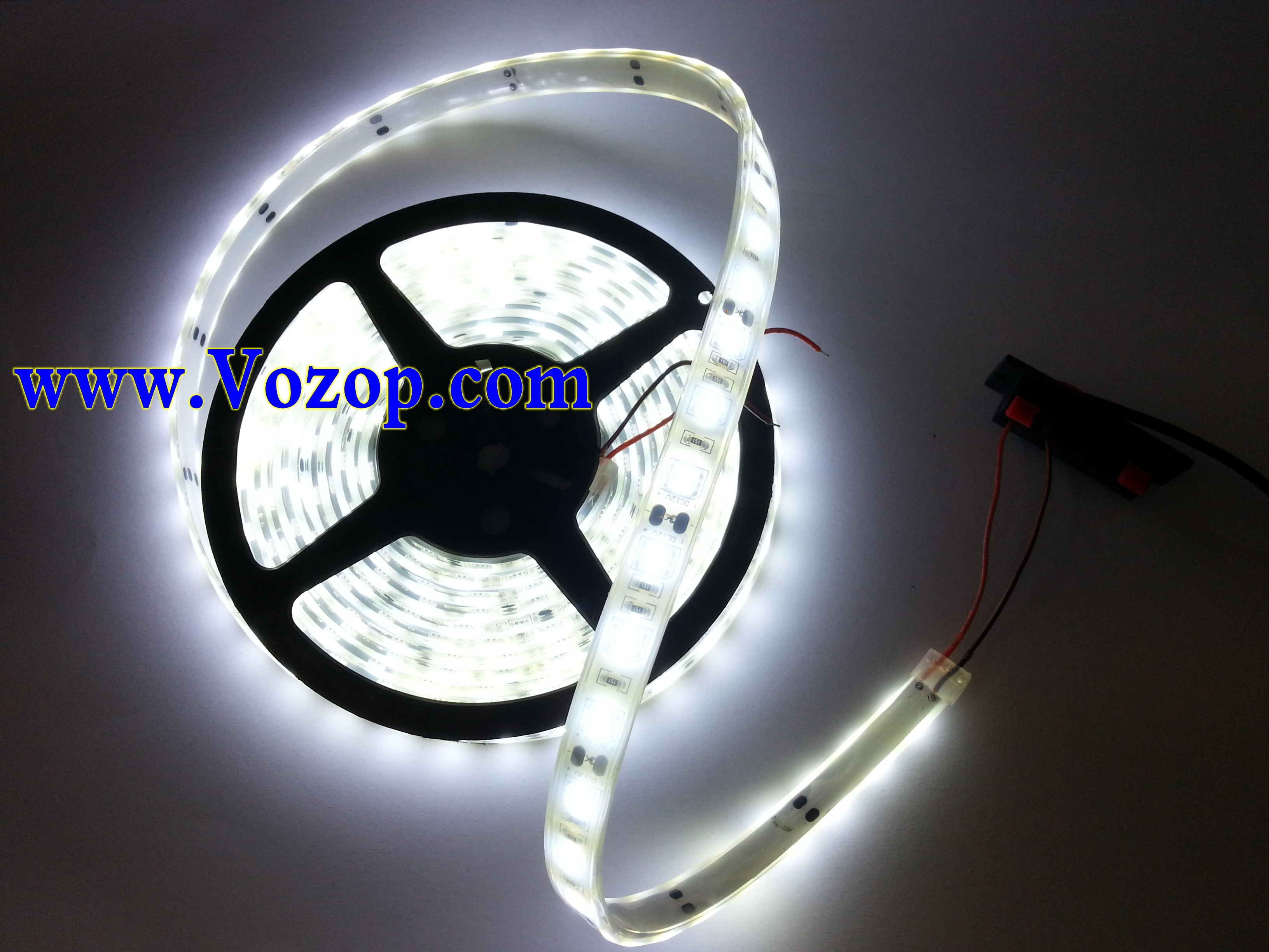 IP68_Waterproof_Pure_White_5050_5M_300_LEDs_LED_Ribbon_Strip_lighting