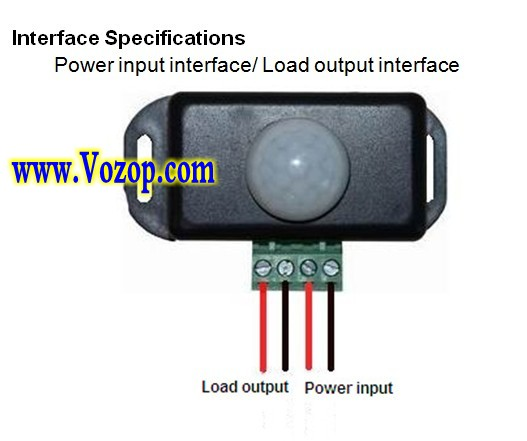LED_Infrared_Detection_Sensor_Controller_Lighting_Time_Adjustable