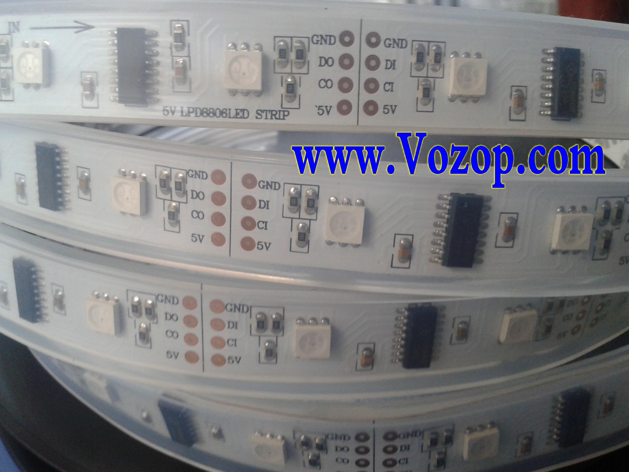 LPD8806_IC_DC_5V_Digital_RGB_5050_LED_Strip