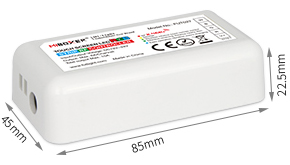 MiLight_FUT027_2.4GHz_DC12V_24V_Available_Touch_RGBW_LED_Strip_Controller_2