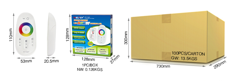 MiLight_FUT027_2.4GHz_DC12V_24V_Available_Touch_RGBW_LED_Strip_Controller_3