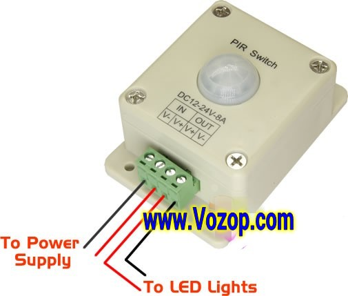 Motion_Sensing_On_Off_LED_Switch_LED_Conroller