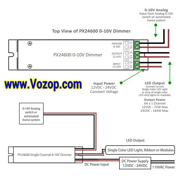 PX24600_DMX_0_10_Dimming_LED_controller_dimmer