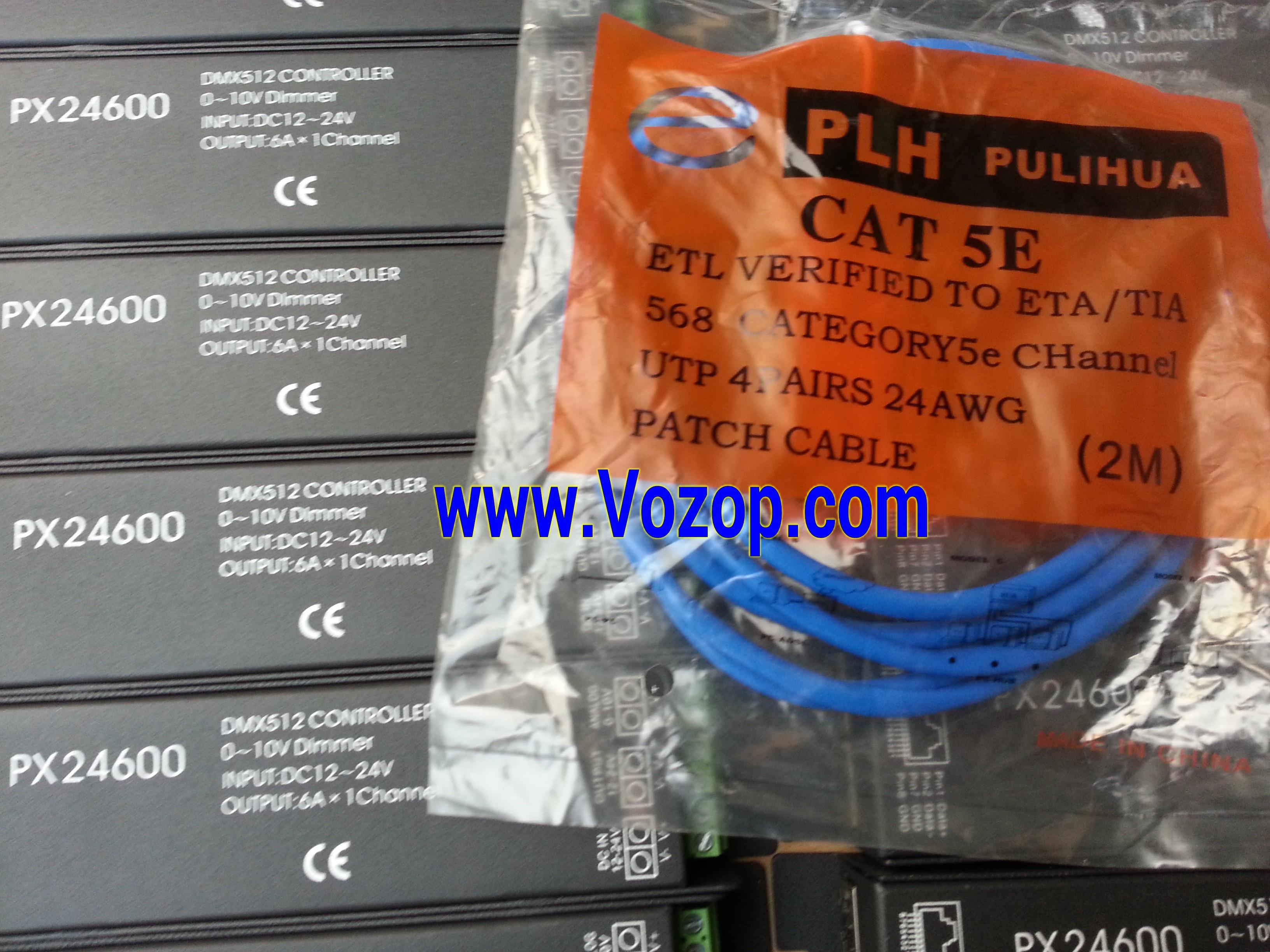 PX24600_DMX_Decorder_DMX512_0_10V_Dimmer_LED_Controller