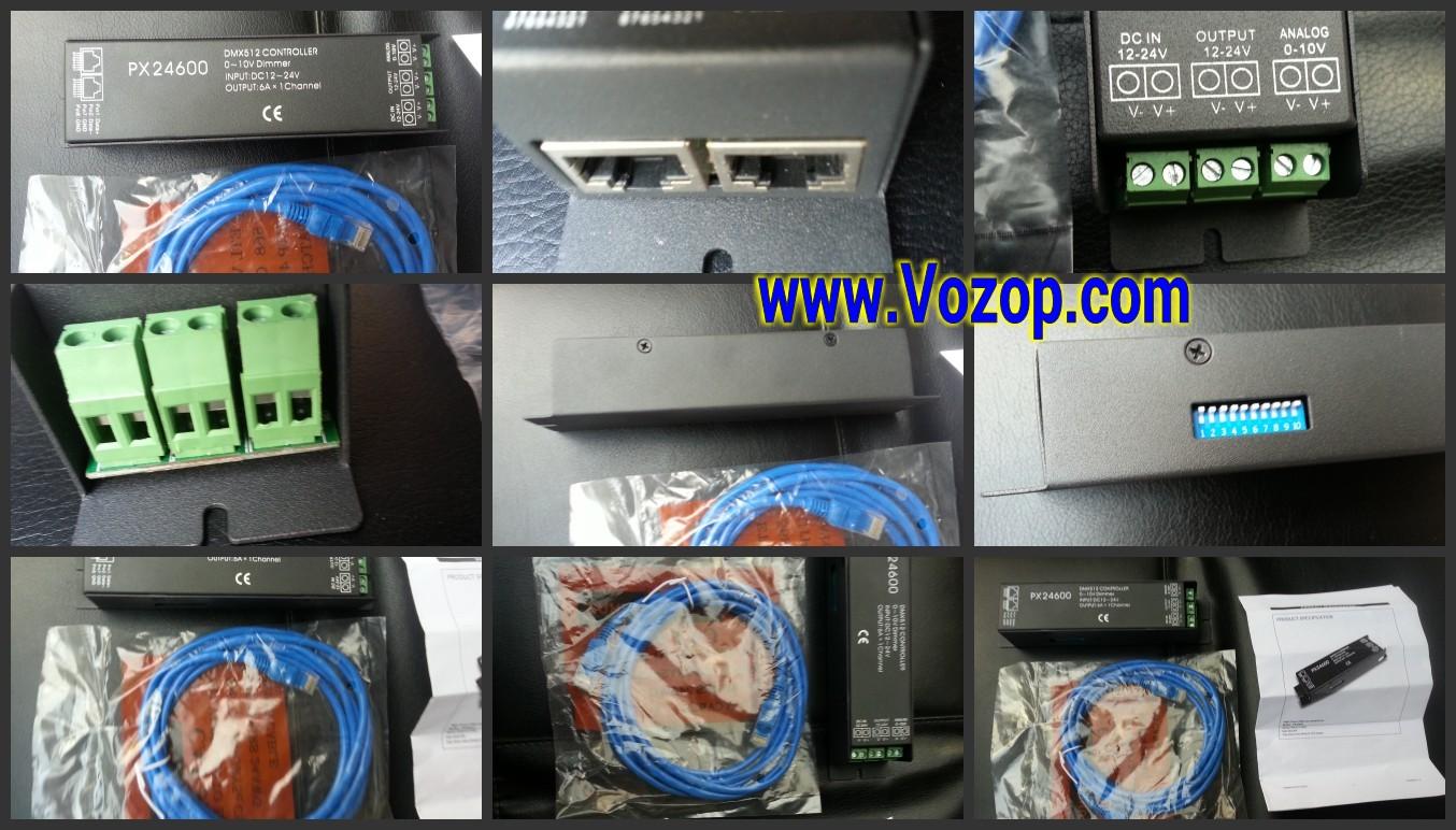PX24600_DMX_Dimmer_LED_Controller