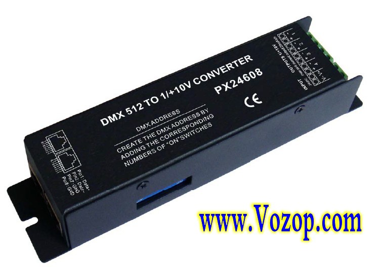PX24608_DMX_Decoder_LED_Controller_DMX512_Signal_Convertor