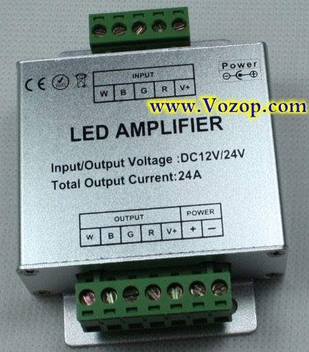 RGBW_RGBWW_Signal_Amplifier_Repeater_for_RGBW_RGBWW_LED_Strip_Light