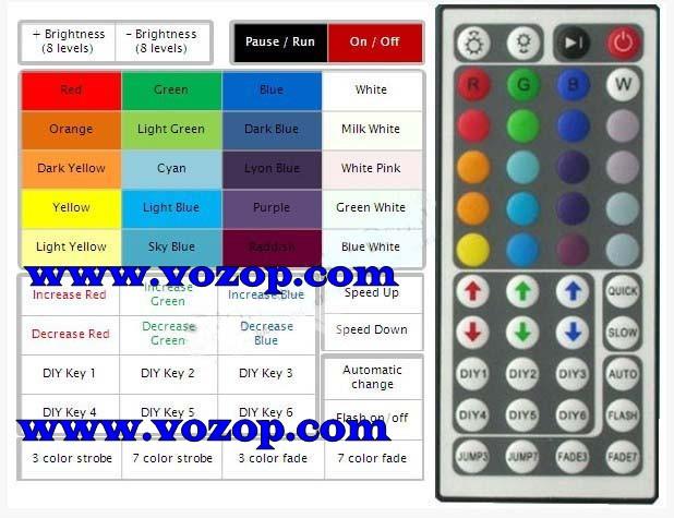 RGB_44_key_Infrared_Controller